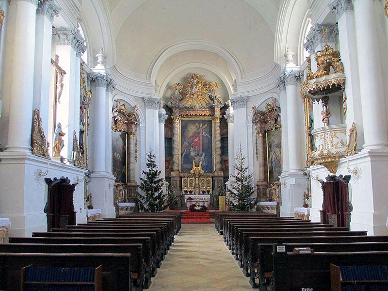 Klosterkirche Reisach von Andreas Faessler - eigenes Werk